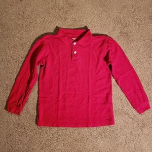 Old navy red polo shirt